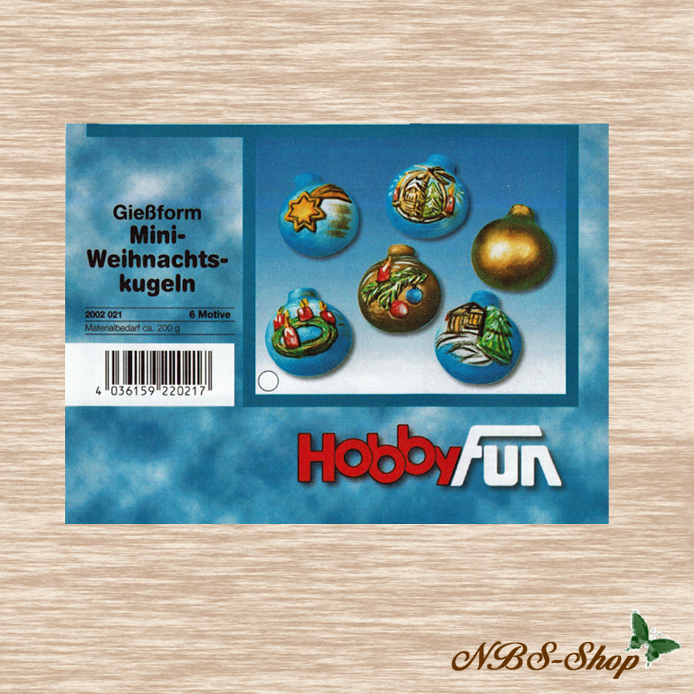 Mini Weihnachtskugeln.Gießform 3d Mini Weihnachtskugeln