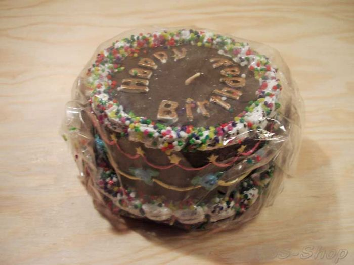 "Kerzen-Torte ""Happy Birthday"""