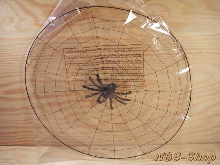 nbsshop  spinnennetz mit spinne