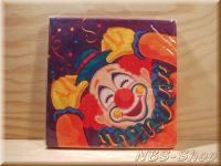 Papier-Servietten Clown
