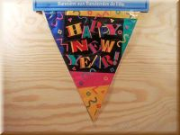 "Wimpelkette ""Happy New Year"""